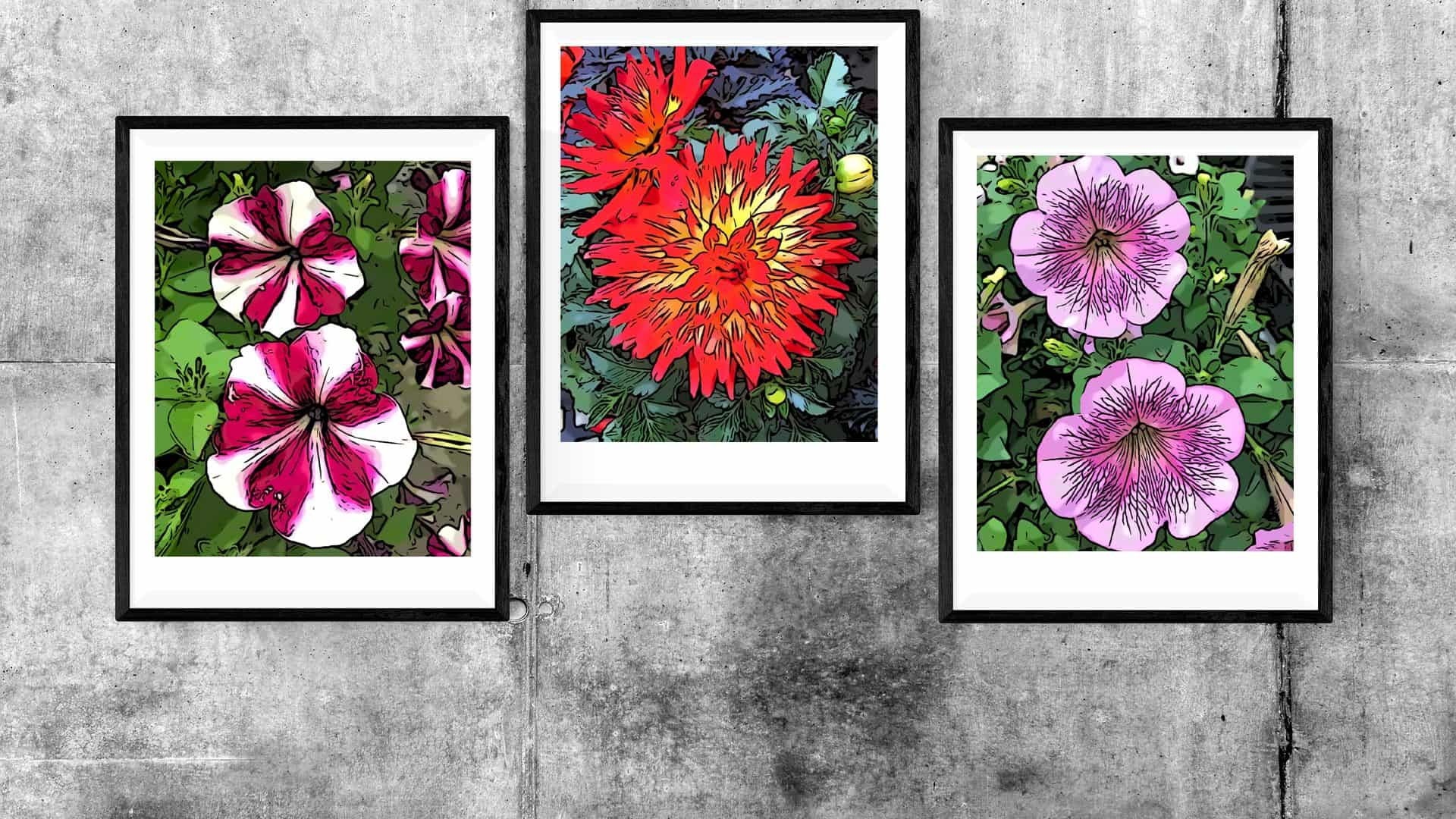 image about Free Printable Wall Art Flowers called Totally free Printable Spring Bouquets Pop Artwork Wall Decor - Creating