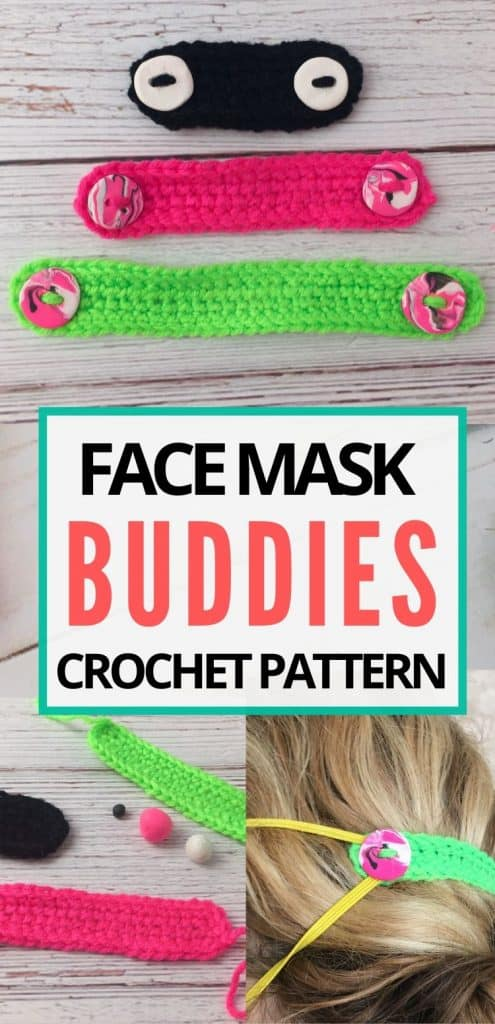 face mask buddies crochet pattern