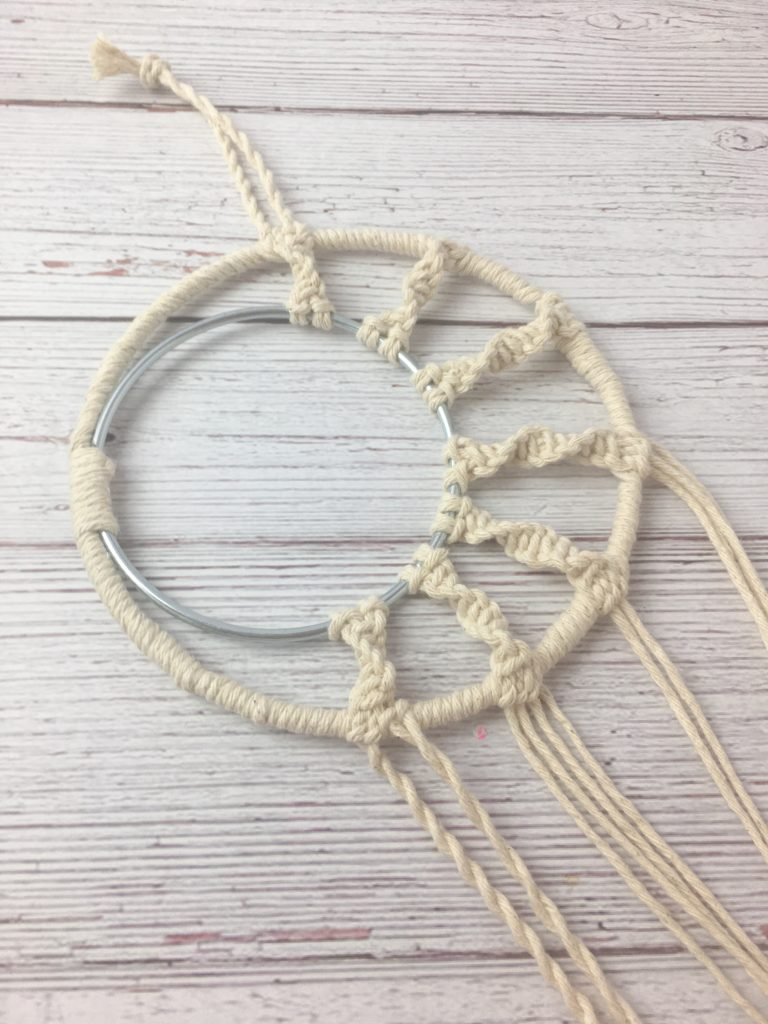 Macrame Dream Catcher Wall Hanging DIY