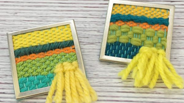 How to Weave A Pin DIY Tutorial