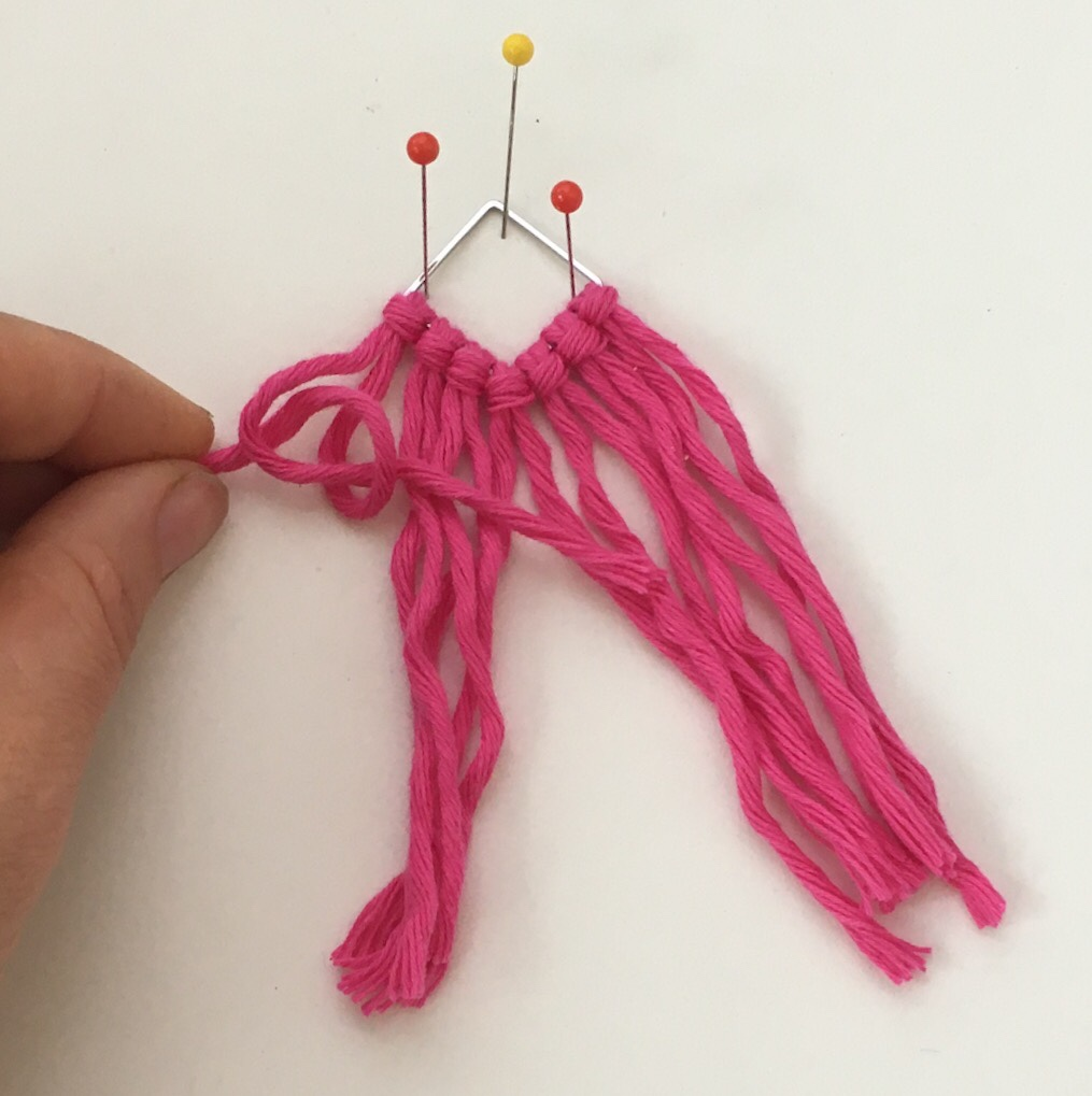 How to Make Macrame Earrings Tutorial