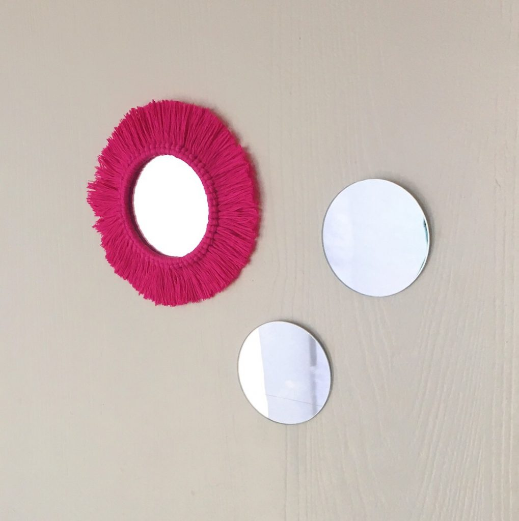 How to Make a Macrame Mirror DIY Tutorial
