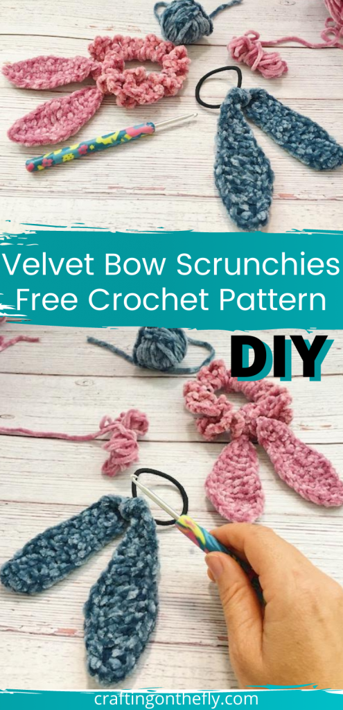 Velvet Bow Crochet Pattern