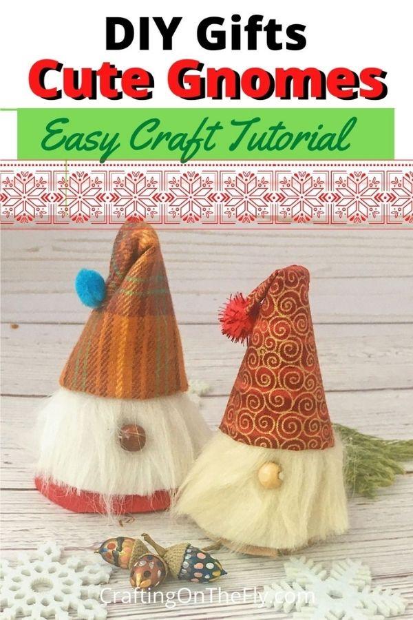 Easy DIY Gnome Tutorial 3